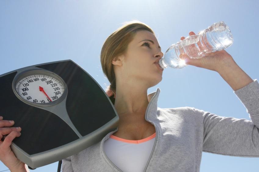 Как сбросить воду вес